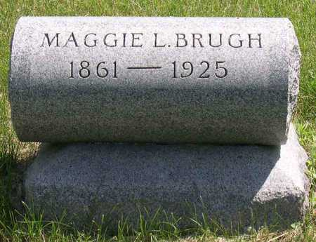 BRUGH, MAGGIE L. - Linn County, Iowa | MAGGIE L. BRUGH