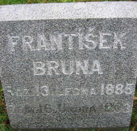 BRUNA, FRANTISEK - Linn County, Iowa | FRANTISEK BRUNA