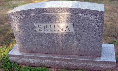 BRUNA, FAMILY STONE - Linn County, Iowa   FAMILY STONE BRUNA