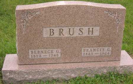 BRUSH, FRANCIS G. - Linn County, Iowa | FRANCIS G. BRUSH