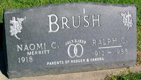 BRUSH, RALPH C. - Linn County, Iowa | RALPH C. BRUSH