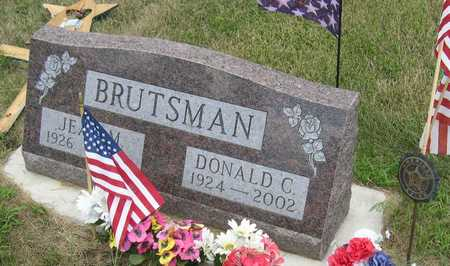 BRUTSMAN, DONALD C. - Linn County, Iowa | DONALD C. BRUTSMAN