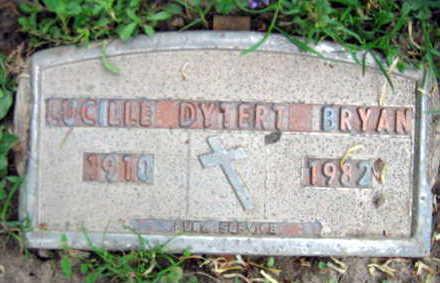 DYTERT BRYAN, LUCILLE - Linn County, Iowa | LUCILLE DYTERT BRYAN