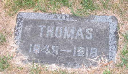 BUCHANAN, THOMAS - Linn County, Iowa | THOMAS BUCHANAN
