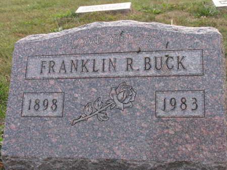 BUCK, FRANKLIN R. - Linn County, Iowa | FRANKLIN R. BUCK