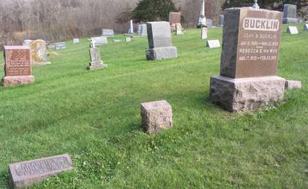 BUCKLIN, FAMILY STONE - Linn County, Iowa   FAMILY STONE BUCKLIN