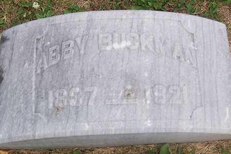 BUCKMAN, ABBY - Linn County, Iowa | ABBY BUCKMAN