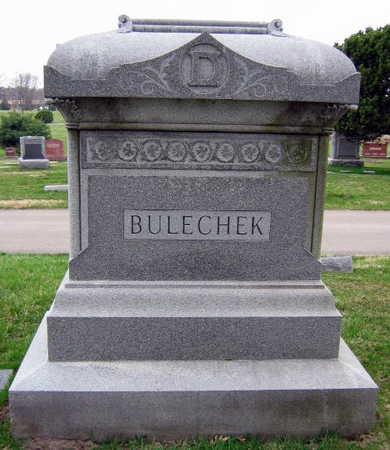 BULECHEK, FAMILY STONE - Linn County, Iowa   FAMILY STONE BULECHEK