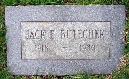 BULECHEK, JACK E. - Linn County, Iowa | JACK E. BULECHEK