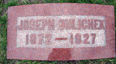 BULICHEK, JOSEPH - Linn County, Iowa   JOSEPH BULICHEK