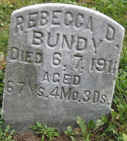 BUNDY, REBECCA D. - Linn County, Iowa | REBECCA D. BUNDY