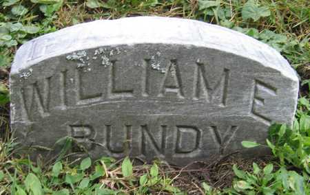 BUNDY, WILLIAM E. - Linn County, Iowa | WILLIAM E. BUNDY