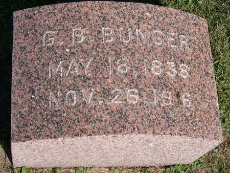 BUNGER, G.B. - Linn County, Iowa   G.B. BUNGER