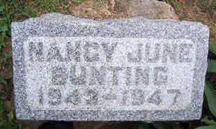 BUNTING, NANCY JUNE - Linn County, Iowa   NANCY JUNE BUNTING