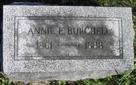 BURCHELL, ANNIE E. - Linn County, Iowa   ANNIE E. BURCHELL