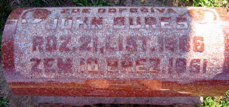 BURES, JOHN - Linn County, Iowa   JOHN BURES