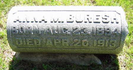 BURESH, ANNA M. - Linn County, Iowa   ANNA M. BURESH
