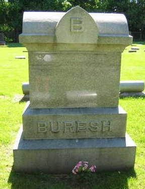 BURESH, FAMILY STONE - Linn County, Iowa   FAMILY STONE BURESH