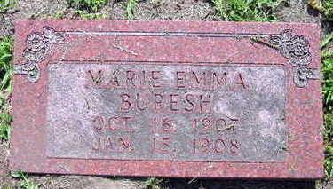 BURESH, MARIE EMMA - Linn County, Iowa | MARIE EMMA BURESH
