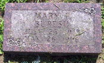 BURESH, MARY F. - Linn County, Iowa | MARY F. BURESH