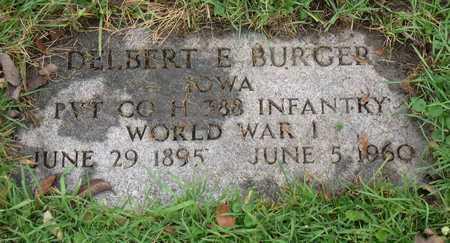 BURGER, DELBERT E. - Linn County, Iowa | DELBERT E. BURGER
