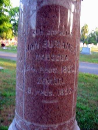 BURIAMEK, JAN - Linn County, Iowa   JAN BURIAMEK