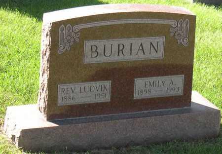BURIAN, LUDVIK, REV. - Linn County, Iowa | LUDVIK, REV. BURIAN