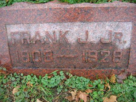 BURIANEK, FRANK J., JR. - Linn County, Iowa   FRANK J., JR. BURIANEK