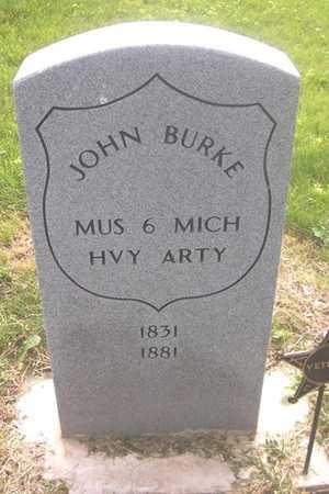 BURKE, JOHN - Linn County, Iowa   JOHN BURKE