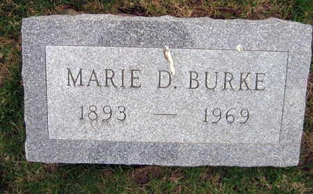 BURKE, MARIE D. - Linn County, Iowa | MARIE D. BURKE