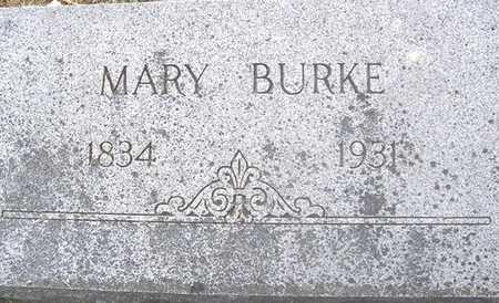 BURKE, MARY - Linn County, Iowa | MARY BURKE