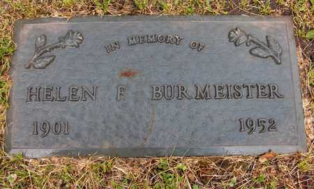 BURMEISTER, HELEN F. - Linn County, Iowa | HELEN F. BURMEISTER