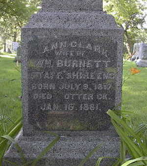 BURNETT, ANN - Linn County, Iowa | ANN BURNETT