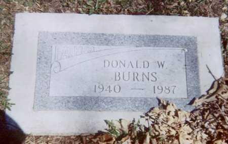 BURNS, DONALD W. - Linn County, Iowa   DONALD W. BURNS