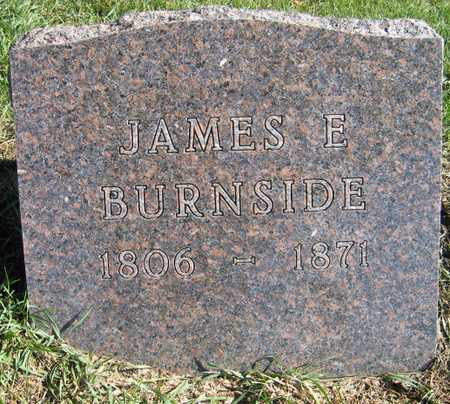 BURNSIDE, JAMES E. - Linn County, Iowa | JAMES E. BURNSIDE
