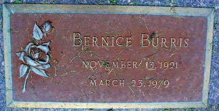 BURRIS, BERNICE - Linn County, Iowa | BERNICE BURRIS