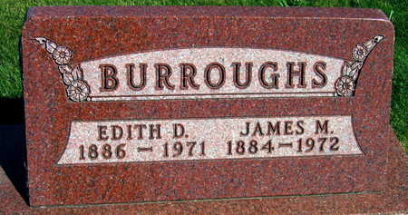 BURROUGHS, EDITH D. - Linn County, Iowa | EDITH D. BURROUGHS