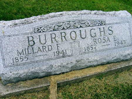 BURROUGHS, MILLARD F. - Linn County, Iowa | MILLARD F. BURROUGHS