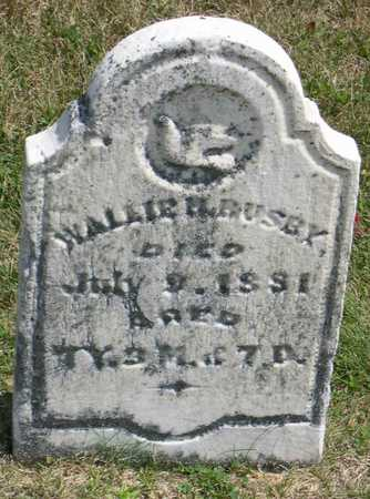 BUSBY, WALLIE H. - Linn County, Iowa | WALLIE H. BUSBY