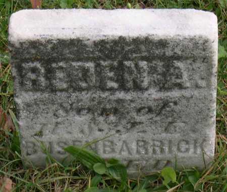 BUSENBARRICK, REDEN A. - Linn County, Iowa   REDEN A. BUSENBARRICK
