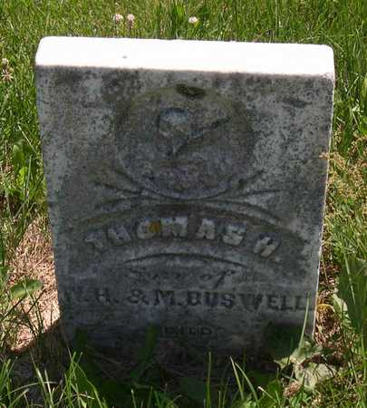 BUSWELL, THOMAS H. - Linn County, Iowa | THOMAS H. BUSWELL