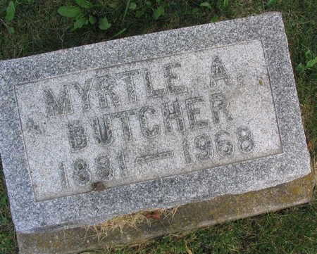 BUTCHER, MYRTLE A. - Linn County, Iowa | MYRTLE A. BUTCHER