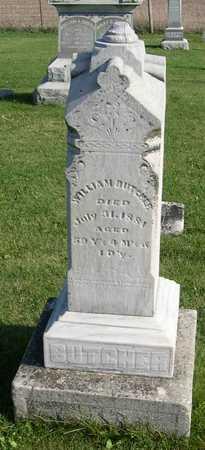 BUTCHER, WILLIAM - Linn County, Iowa | WILLIAM BUTCHER