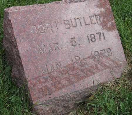 BUTLER, CORT - Linn County, Iowa   CORT BUTLER