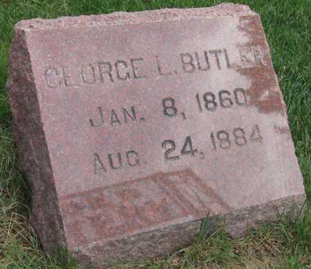 BUTLER, GEORGE L. - Linn County, Iowa | GEORGE L. BUTLER