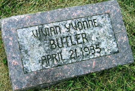 BUTLER, VIVIAN YVONNE - Linn County, Iowa | VIVIAN YVONNE BUTLER