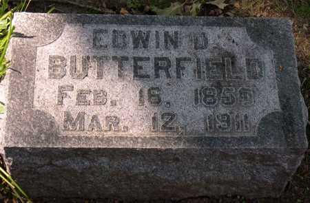 BUTTERFIELD, EDWIN D. - Linn County, Iowa | EDWIN D. BUTTERFIELD