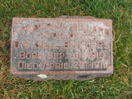 BUTTERS, FREDERICK WILLARD - Linn County, Iowa | FREDERICK WILLARD BUTTERS