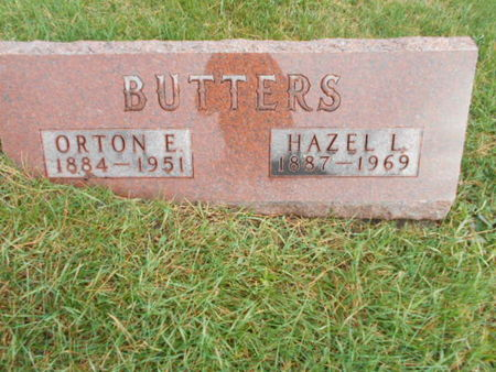 BISHOP BUTTERS, HAZEL L - Linn County, Iowa | HAZEL L BISHOP BUTTERS