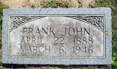 CABALKA, FRANK JOHN - Linn County, Iowa | FRANK JOHN CABALKA